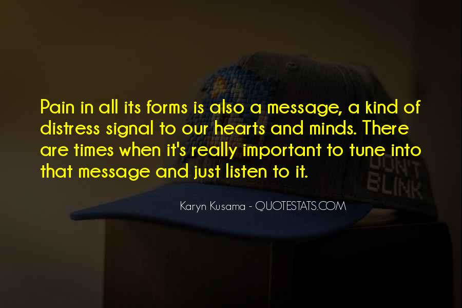 Kusama's Quotes #1169106