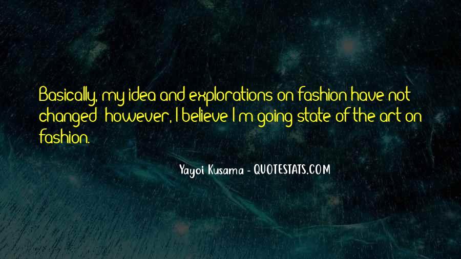 Kusama's Quotes #1532784