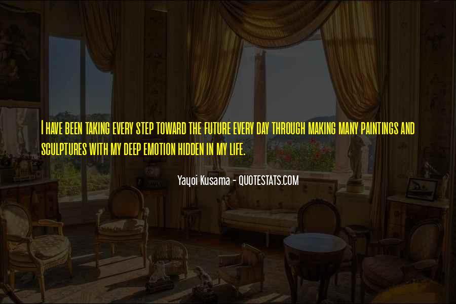 Kusama's Quotes #153962