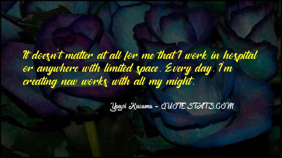 Kusama's Quotes #1555838