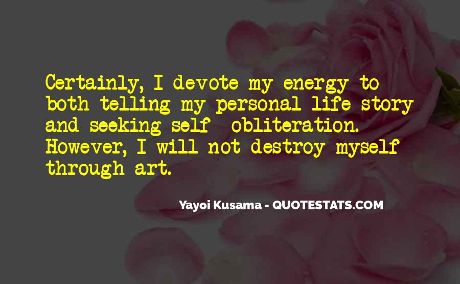 Kusama's Quotes #1579206
