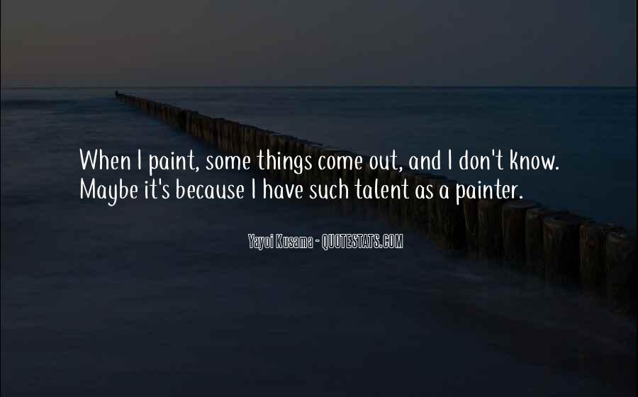 Kusama's Quotes #1714667