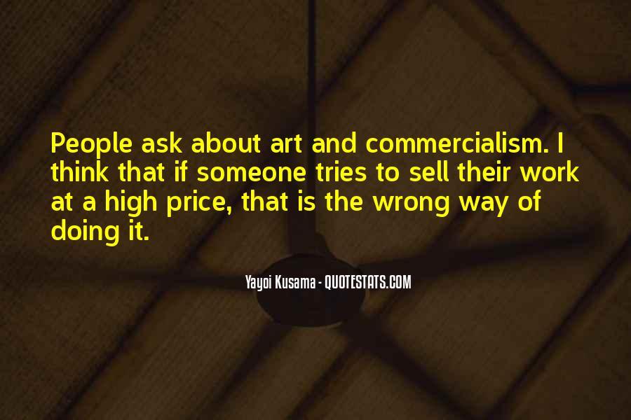 Kusama's Quotes #205924