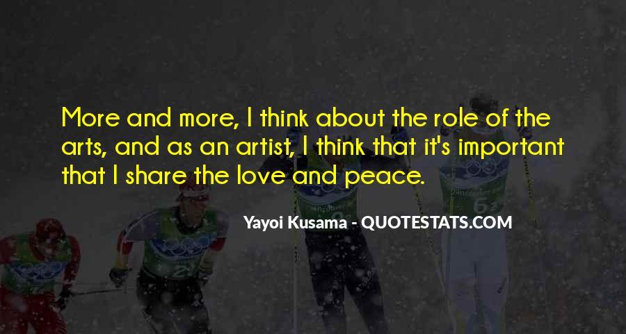 Kusama's Quotes #284644