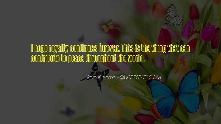 Kusama's Quotes #352636
