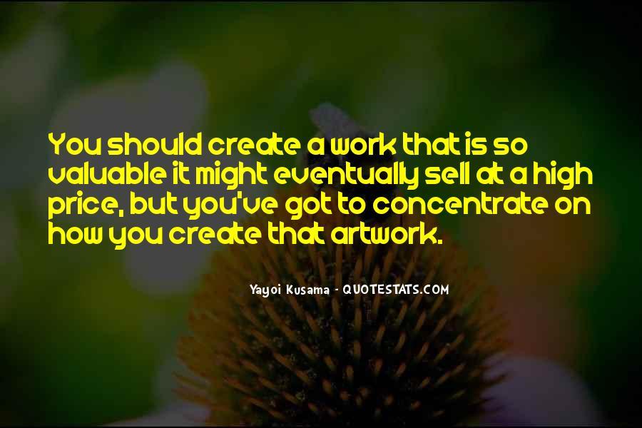 Kusama's Quotes #391836