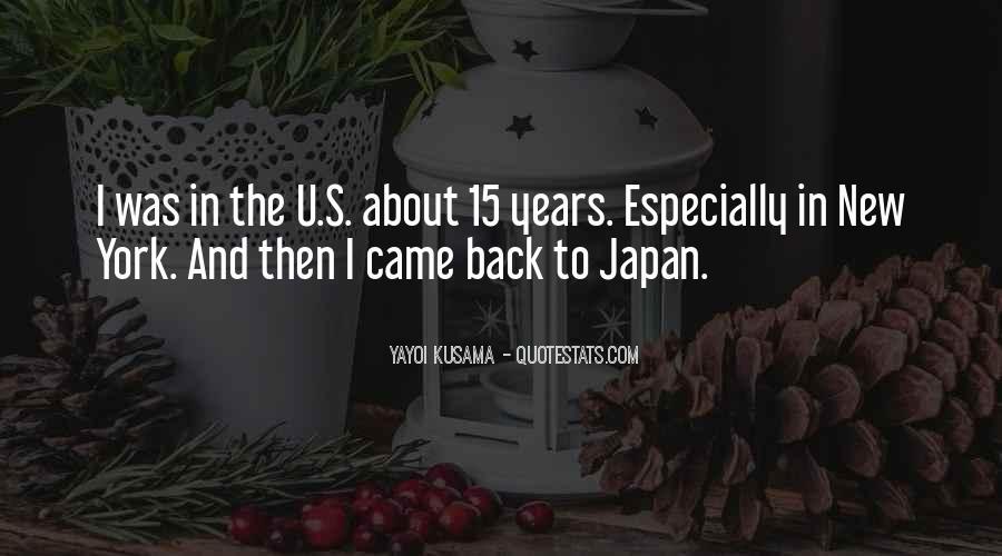 Kusama's Quotes #672837