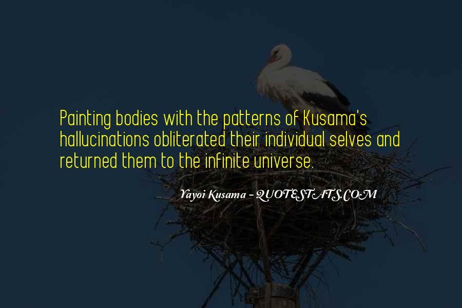 Kusama's Quotes #868542