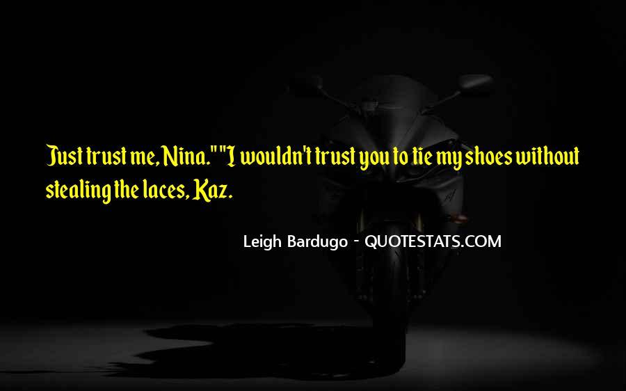 Laces Quotes #1073759