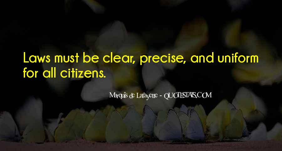 Lafayette's Quotes #1278539