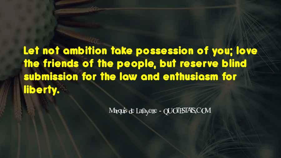 Lafayette's Quotes #15235