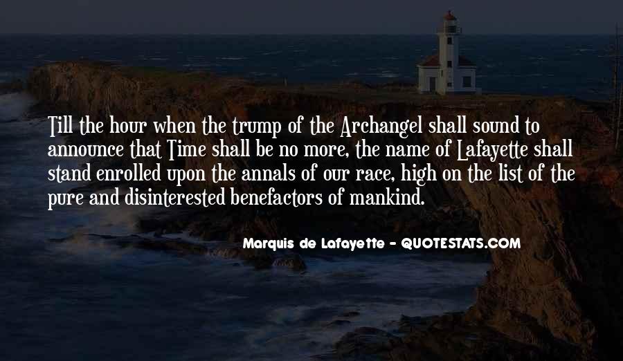 Lafayette's Quotes #1628624