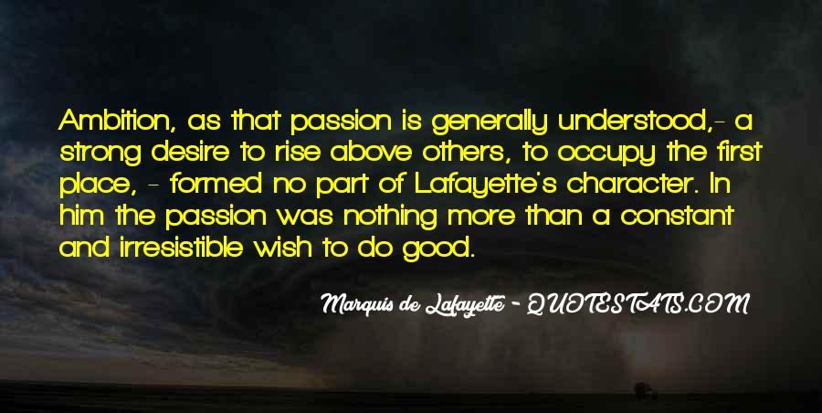 Lafayette's Quotes #1630965