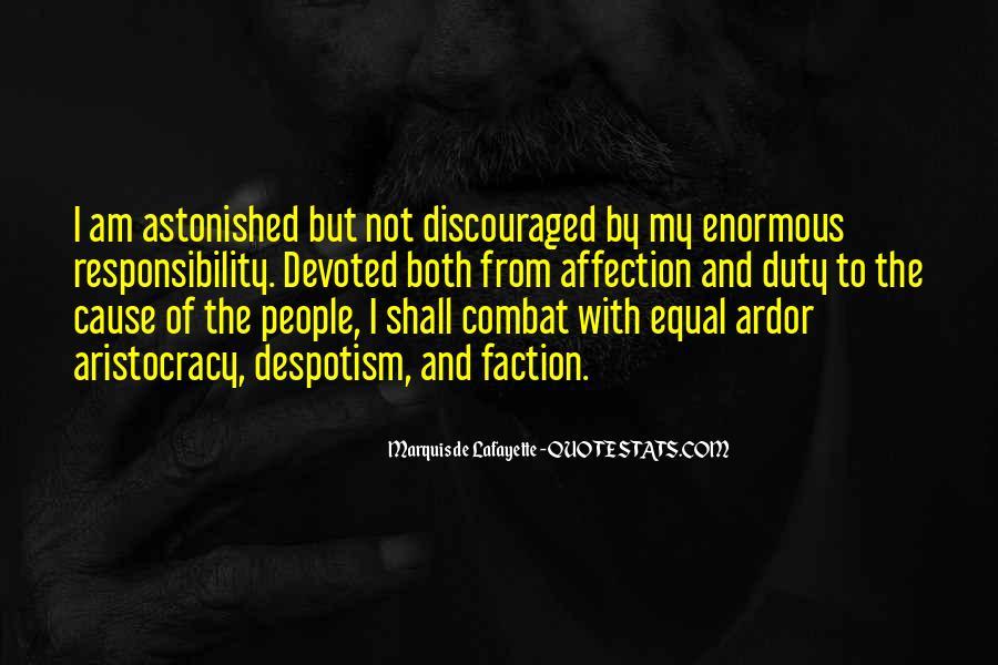 Lafayette's Quotes #1687963