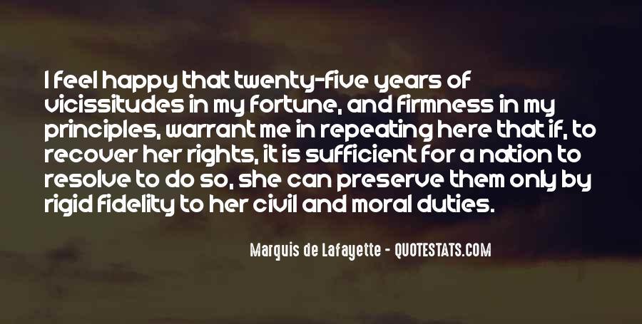 Lafayette's Quotes #178726