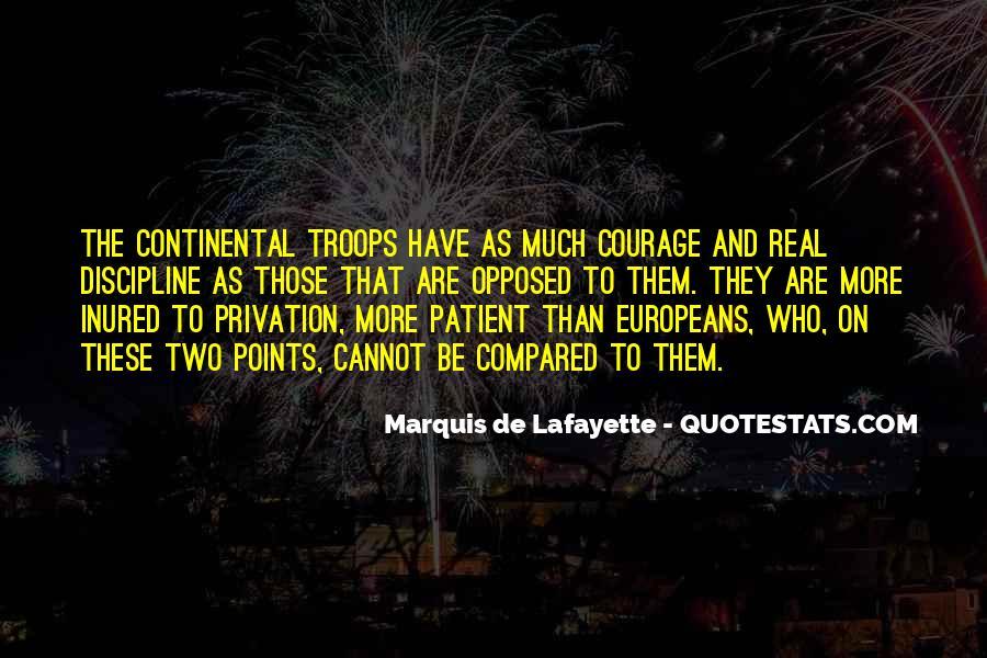 Lafayette's Quotes #1809579