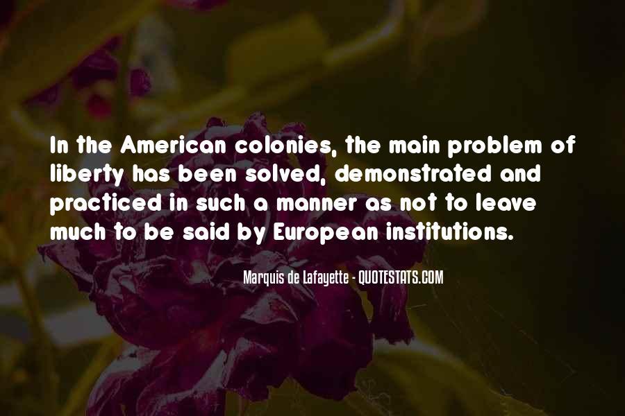 Lafayette's Quotes #222860