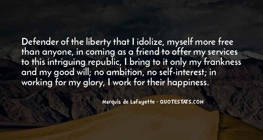 Lafayette's Quotes #280870