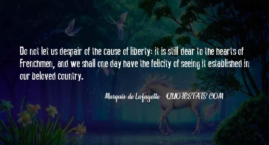 Lafayette's Quotes #326176