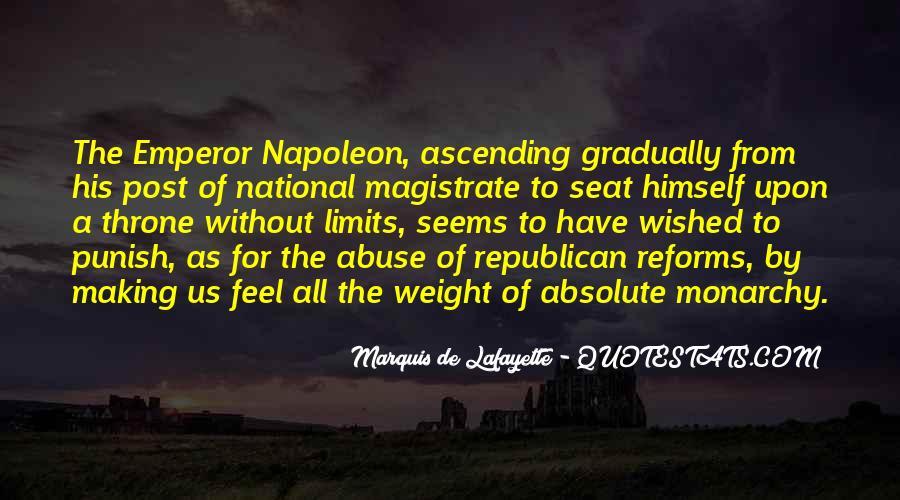 Lafayette's Quotes #439969