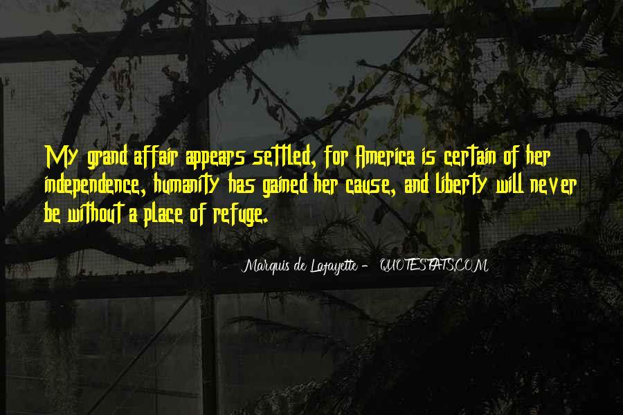 Lafayette's Quotes #446003