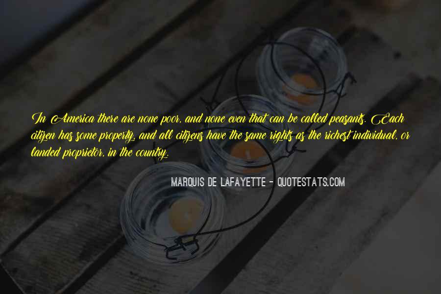 Lafayette's Quotes #452047