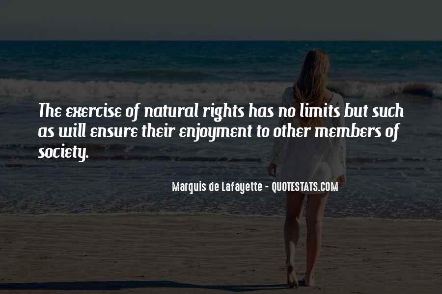 Lafayette's Quotes #486368
