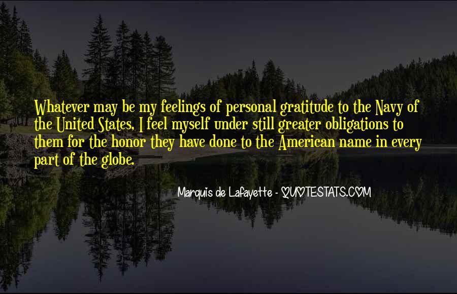 Lafayette's Quotes #51353