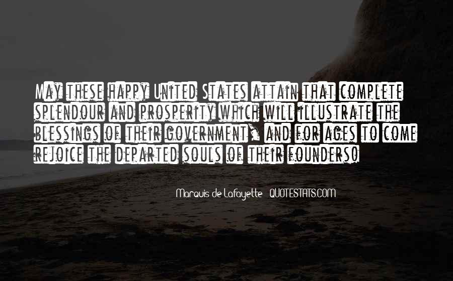 Lafayette's Quotes #598454