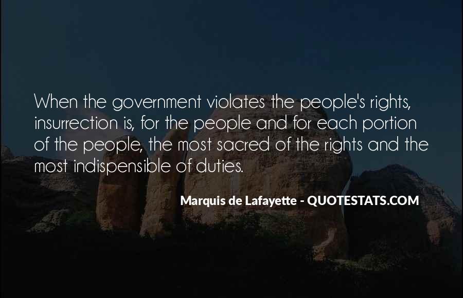 Lafayette's Quotes #658600