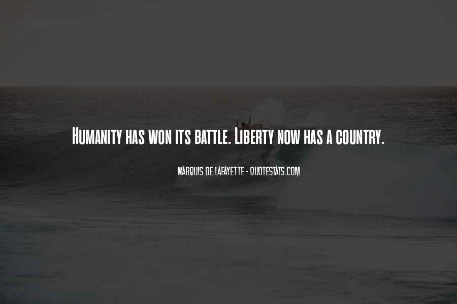 Lafayette's Quotes #691140