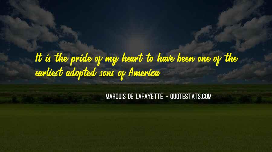 Lafayette's Quotes #952617