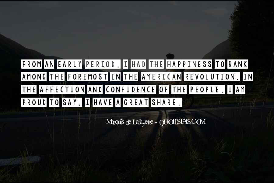 Lafayette's Quotes #993820