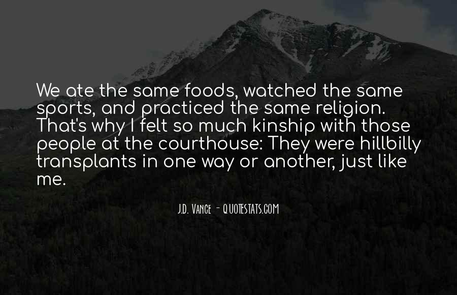 Quotes About Religion And Sports #1800366