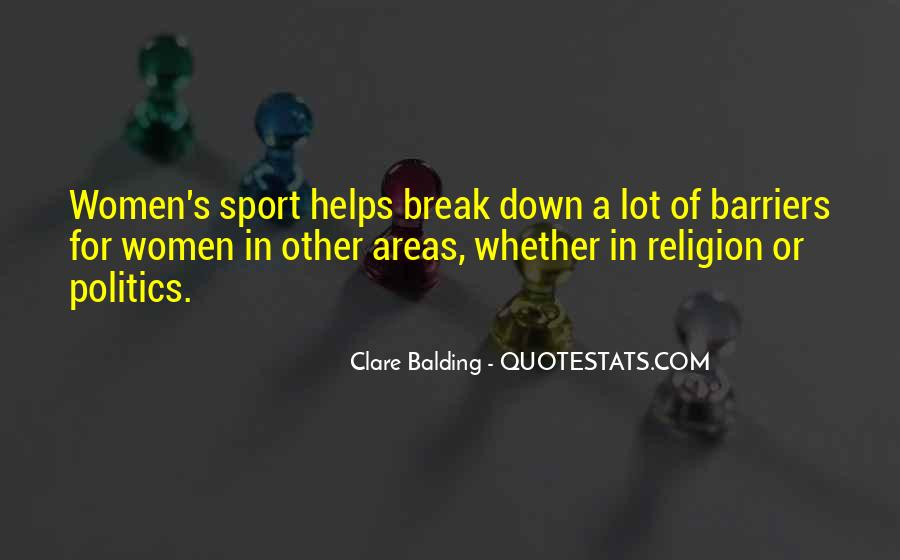 Quotes About Religion And Sports #228507