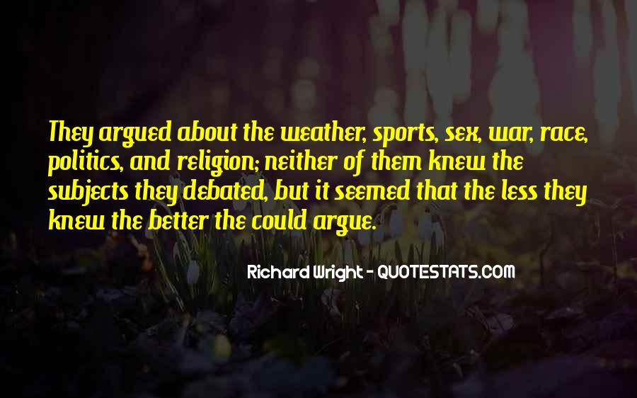 Quotes About Religion And Sports #484223