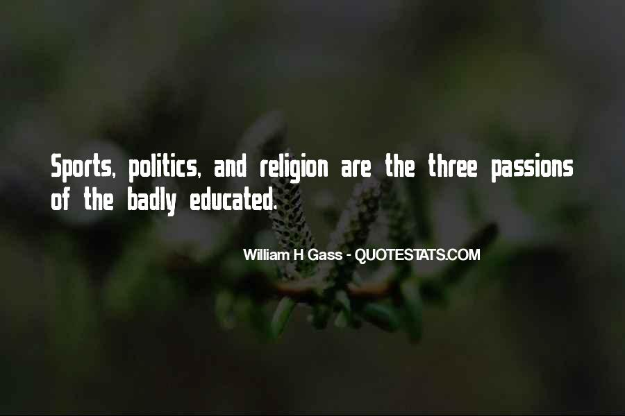 Quotes About Religion And Sports #570604