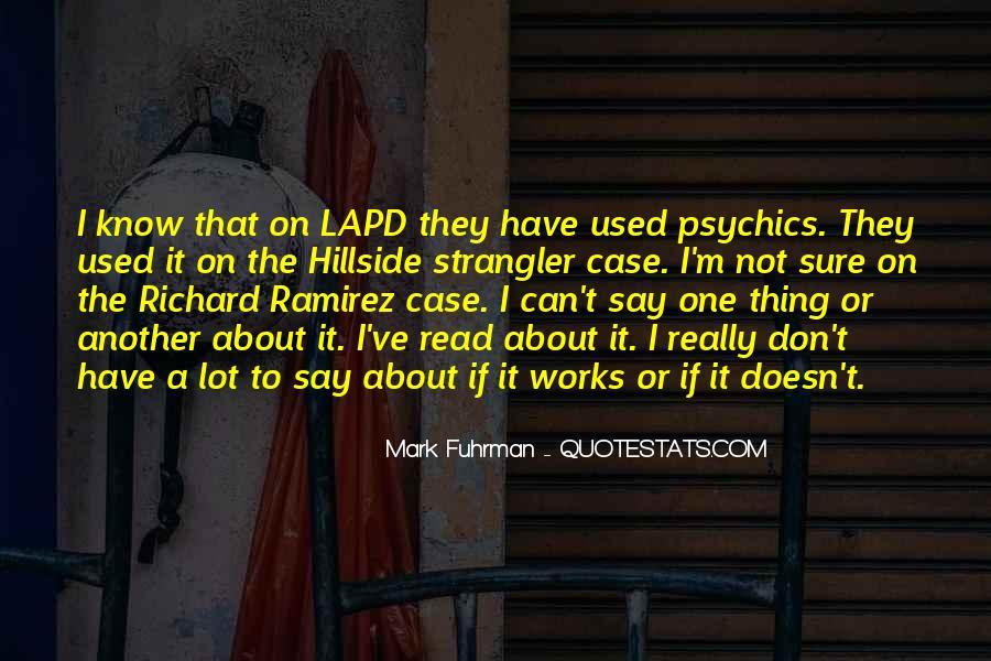 Lapd's Quotes #303123