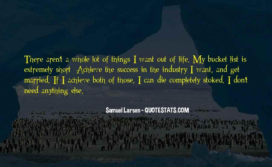 Larsen's Quotes #110162