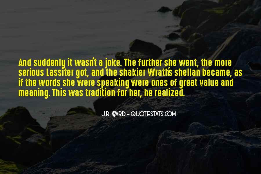 Lassiter's Quotes #1727855