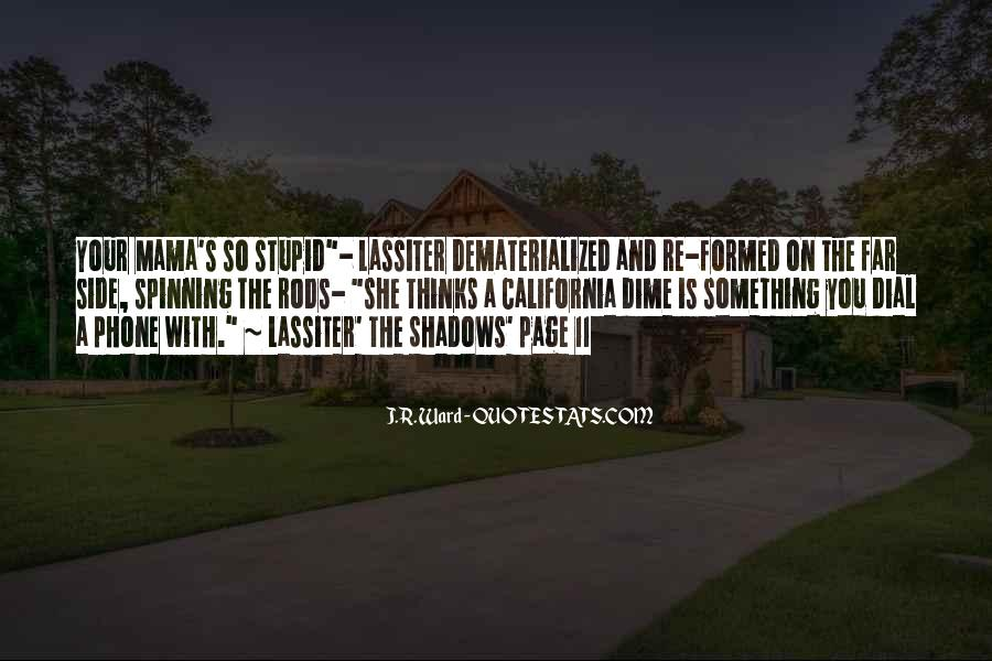 Lassiter's Quotes #832994