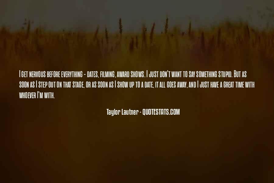 Lautner Quotes #679686