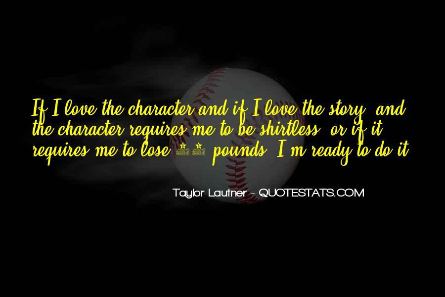 Lautner Quotes #899789