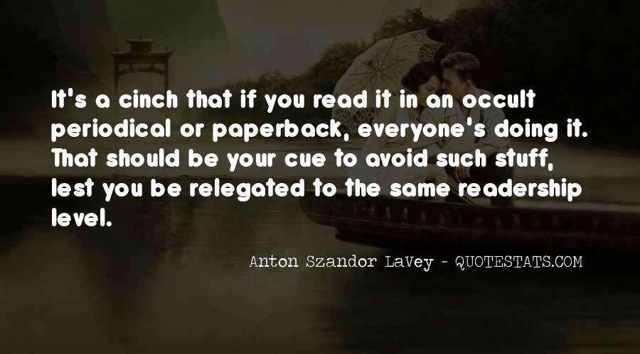 Lavey's Quotes #40873