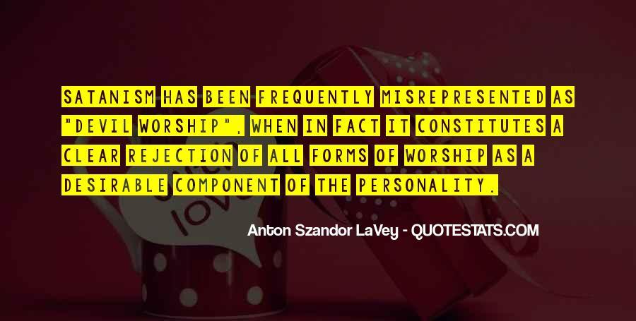 Lavey's Quotes #458690