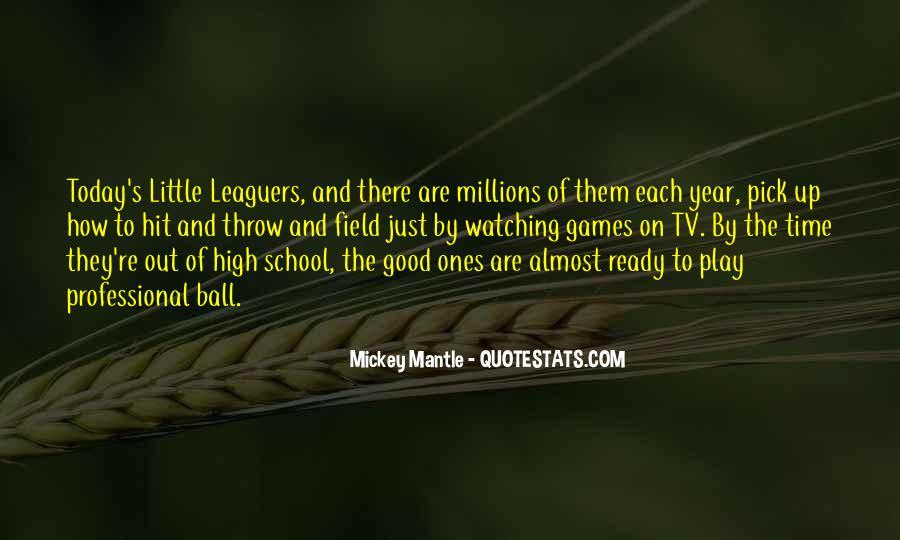 Leaguers Quotes #626822