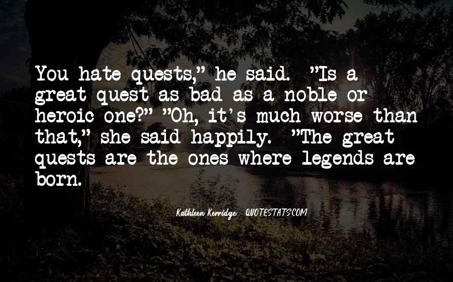 Leatherwood Quotes #598959