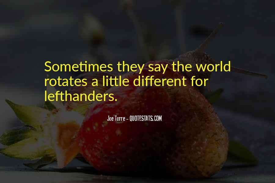 Lefthanders Quotes #1647408
