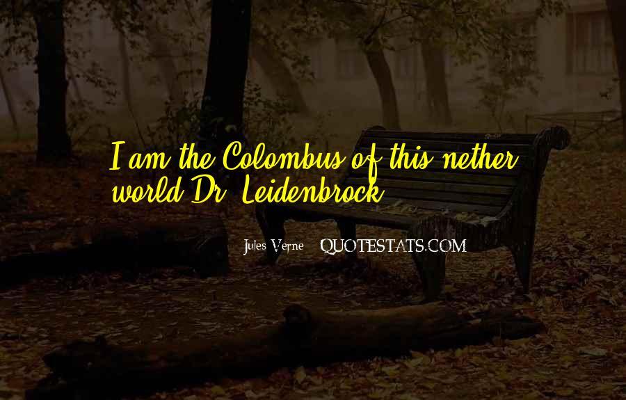 Leidenbrock Quotes #1062470