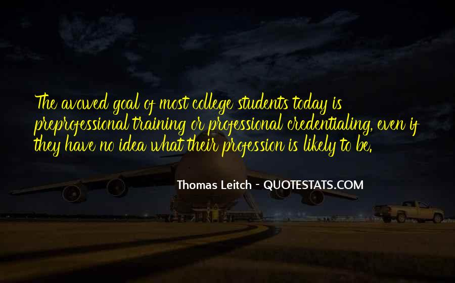 Leitch Quotes #1215462
